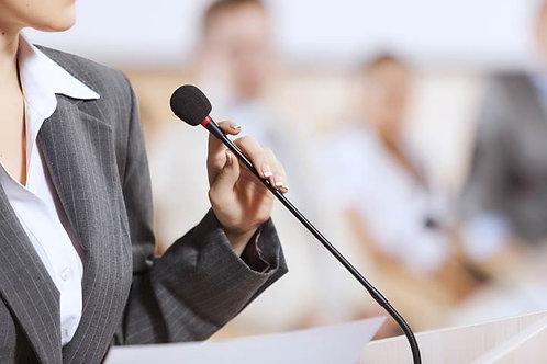 Training Individual Speaker