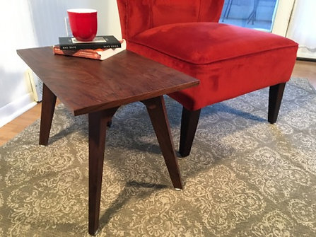Walnut End Table Series - Starting At
