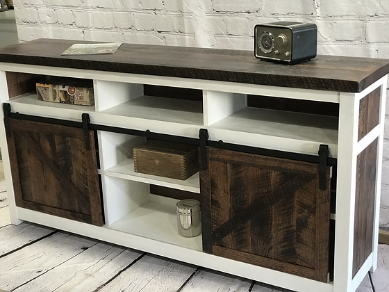 Reclaimed Wood Media Console - Starting at