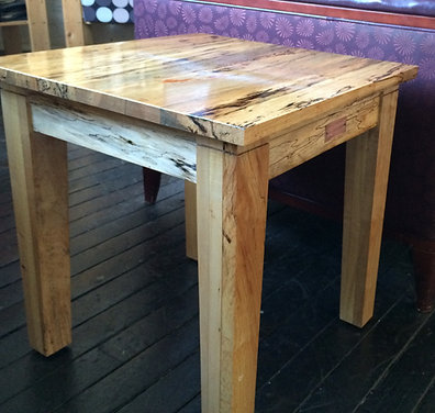 Spalted Maple Table - Starting At