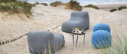 2017-Borek-rope-Leno-bean-bag-and-crochette-pouffe-teak-alu-Pesaro-side-table-