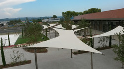 Structure architecture textile