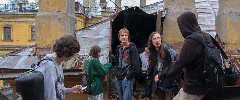 Питерские крышы