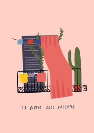La ciutat dels balcons