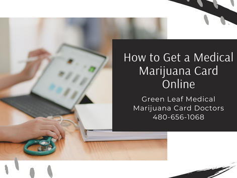 How to Get a Marijuana Card Online in 2021