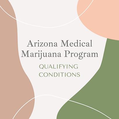 arizona medical marijuana qualifying con