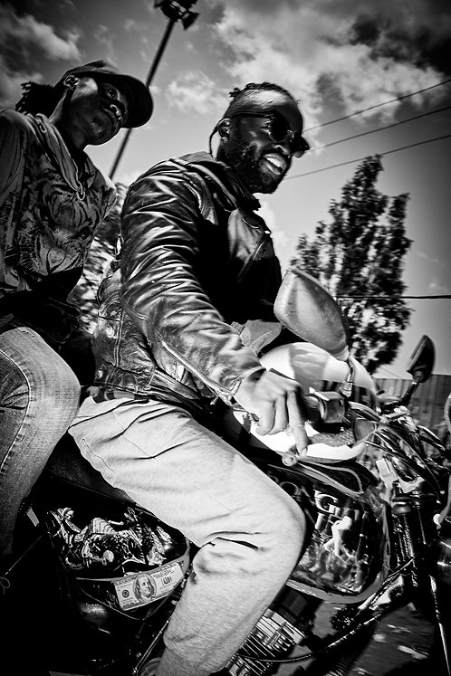Moto Taxi 1, Kibera, 2017