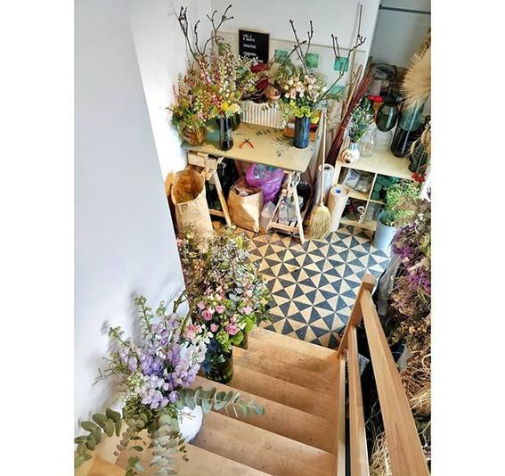 The florist atelier 🐝💚 .. the clean ve