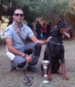 Ch. Tayss di Casa Fox al trofeo Vesuvio 2014