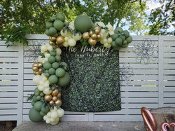 Wedding balloon wall