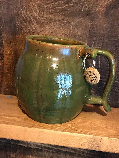 Green Grenade Mug