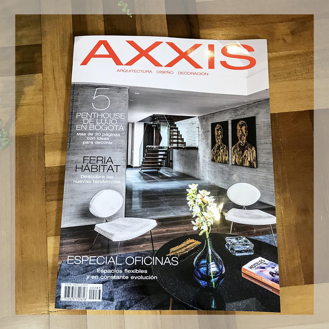 Portada Revista Axxis