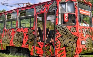 FOLKSTAR 13 TRAM / Novosibirsk, Russia