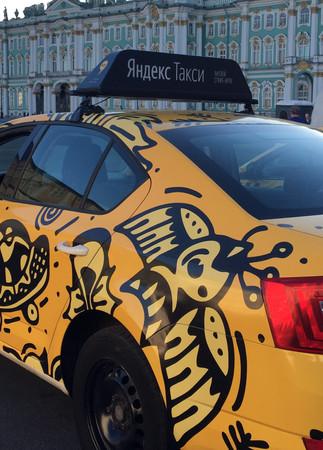 Yandex taxi / Saint-Petersburg, Russia