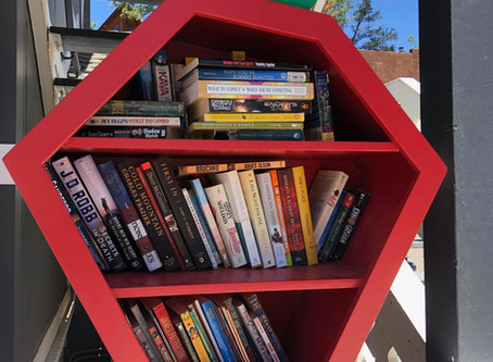 The Sweetest Little Library in Strawberry