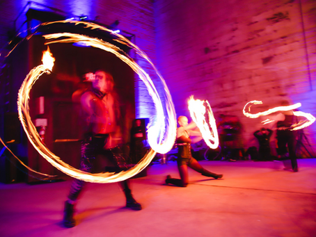 Art aFlame Event in Strawberry