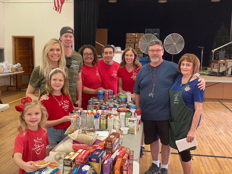 Our Collective Contribution to The Pine Strawberry Food Bank
