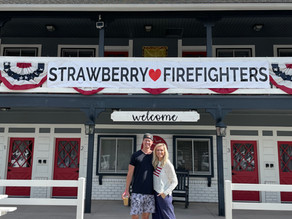 Strawberry ❤️ Firefighters!