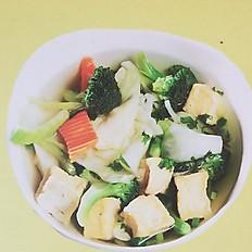 Veggie Noodle Soup (Pho)