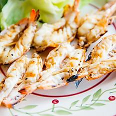 Shrimp Skewers (6 pcs of shrimp)