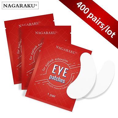 NAGARAKU 400 Pairs/Lot Eye Pads Gel Patch for Eyelash Extension