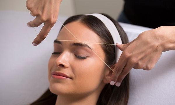 brynstyling med tråd lash rehab