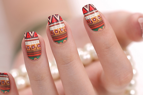 Aztec Nail Wraps