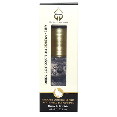 Dead Sea Anti - Wrinkle Eye & Décolleté Serum - Enriched With Hyaluronic Acid