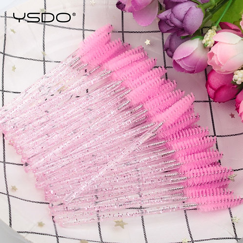 50Pcs Eyelash Brushes