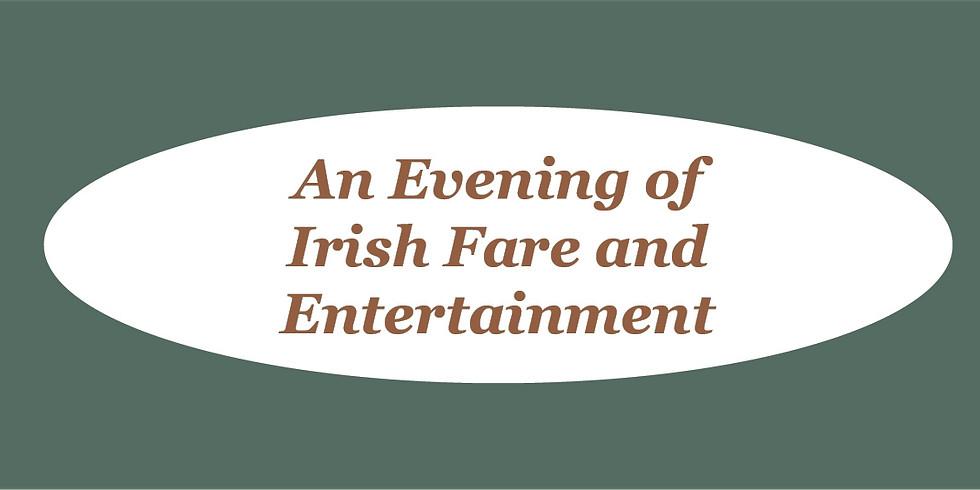 Evening of Irish Fare and Entertainment