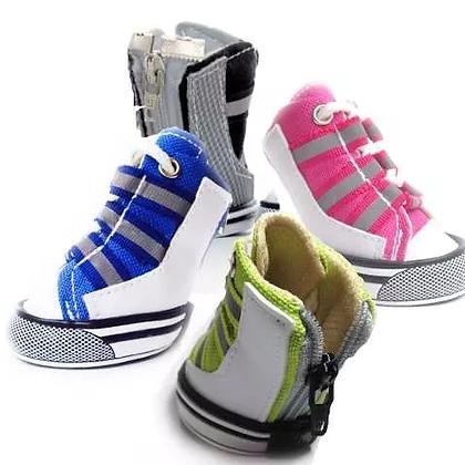 Zapatos Botines Kpets Tipo Bota Cierre Perros Mascotas