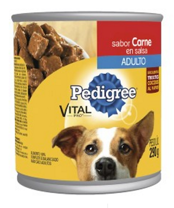 PEDIGREE ADULTO - CARNE LATA 290 GR
