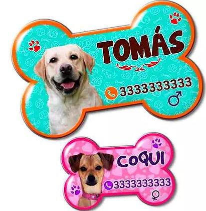 Placas De Identificación Personalizadas Para Mascotas-perros
