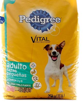 PEDIGREE VITAL PROTECT ADULTO RAZA PEQUEÑ E3 25 KG