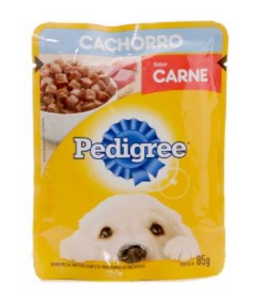 PEDIGREE POUCH CACHORRO CARNE 85 GR