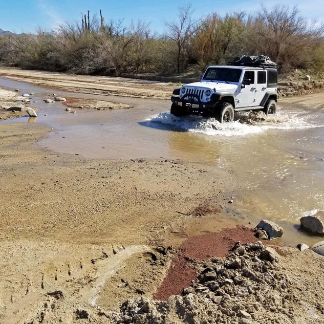 Forging the River