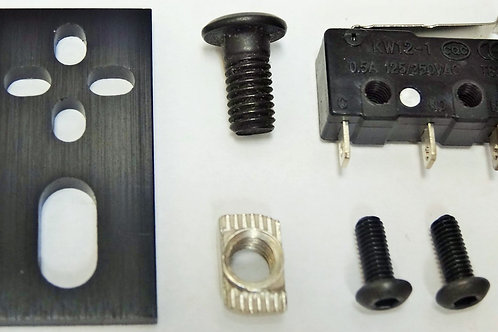 Micro Limit Switch Kit with Mounting Plate