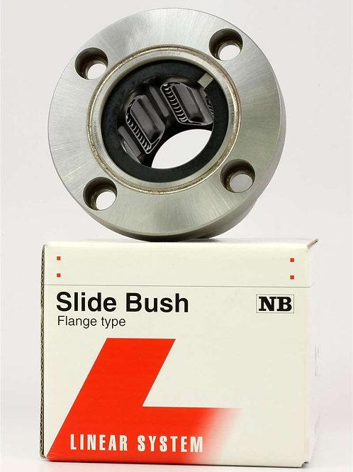 Flanged Bushing - 10mm Shaft