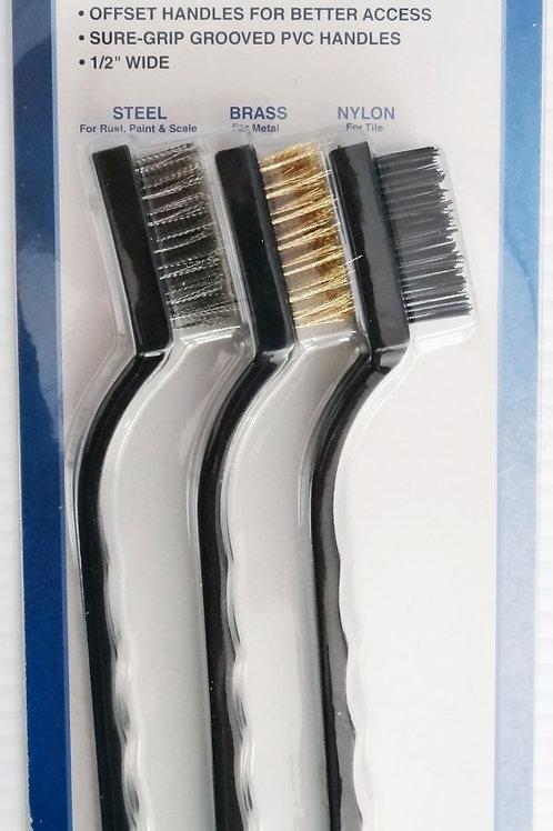3D printer / CNC Mill Brush Set