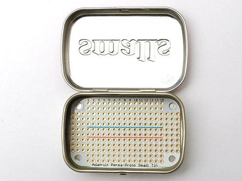 Perma-Proto Small Mint Tin Breadboard PCB - 3 Pack