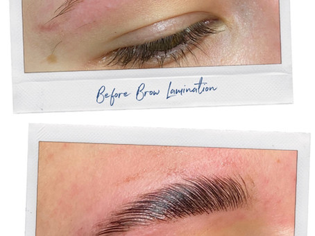 Brow Lamination: The Must Have Treatment