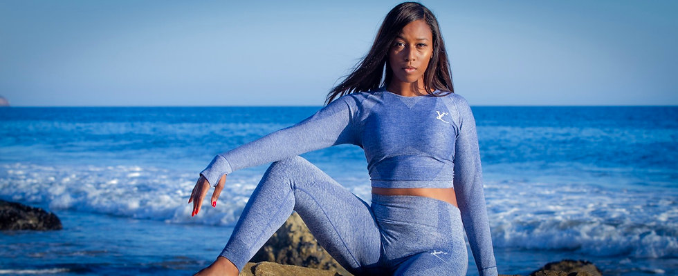 Trans • Form Yoga Set - MaliBlue