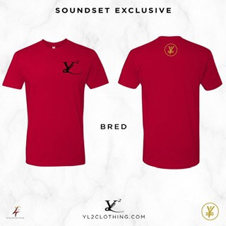 "YL2 ""Logo"" Tee - Bred"