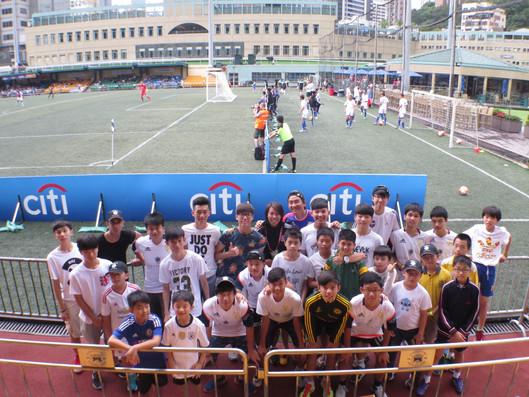 Day out at Hong Kong Soccer 7's