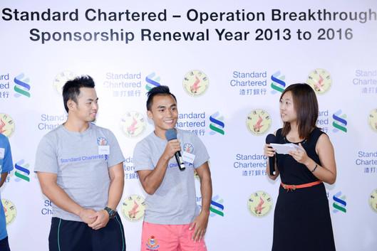 Standard Chartered - Operation Breakthrough Sponsorship Renewal Year 2013 to 2016