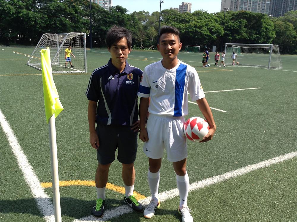 Coach Kenji far right with coach Ah  Sa