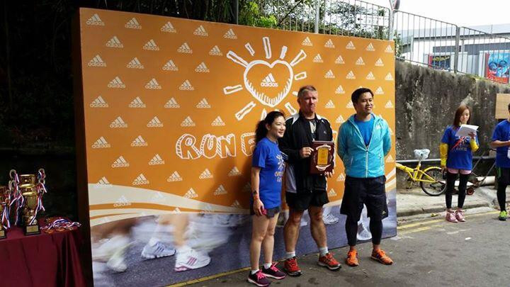 From left Anne Tsui, Director of HR at Adidas (HK) Ltd, David Grant, Director of Breakthrough and Adrian Siu, Managing Director of Adidas (HK) Ltd.