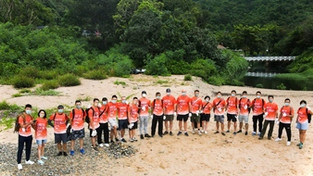 Hong Kong Marine x Police Sailing Club x Operation Breakthrough coastal cleanup