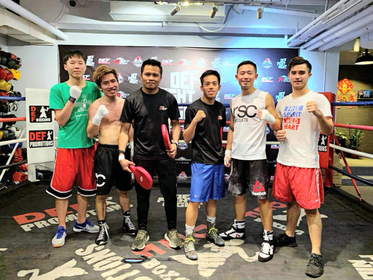 Operation Breakthrough boxers exchanged skills with Asia Champion