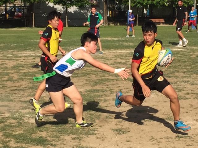HK deaf Rugby player chasing breakthrough lad.